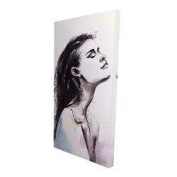 Canvas 24 x 48 - 3D - Bare skin