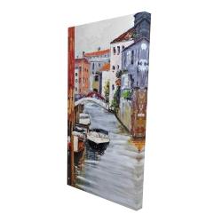Canvas 24 x 48 - 3D - Venetian landscape