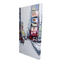 Canvas 24 x 48 - 3D - Time square