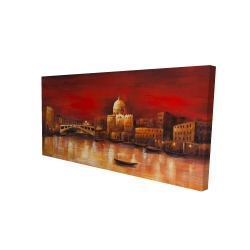 Canvas 24 x 48 - 3D - Venise by red dawn