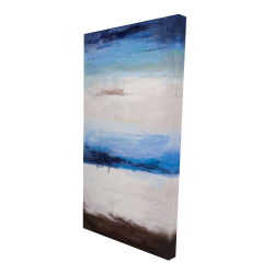 Canvas 24 x 48 - 3D - Colors of the beach