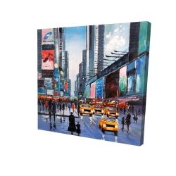 Canvas 24 x 24 - 3D - Peak hour