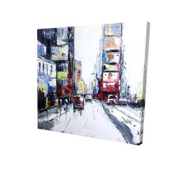 Canvas 24 x 24 - 3D - Time square