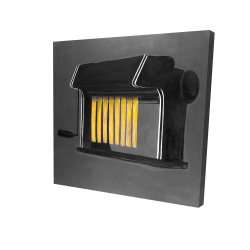 Toile 24 x 24 - 3D - Machine à pâtes fraîches