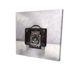 Canvas 24 x 24 - 3D - Old camera