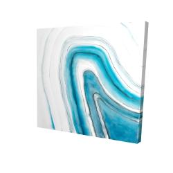 Canvas 24 x 24 - 3D - Round geode