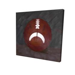 Canvas 24 x 24 - 3D - Football ball