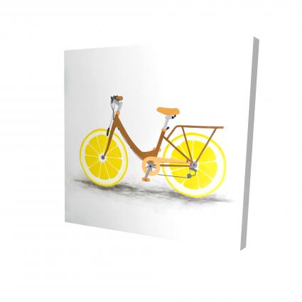 Lemon wheel bike