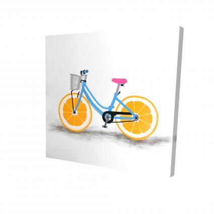 Orange wheel bike