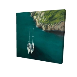 Canvas 24 x 24 - 3D - Smooth sailing