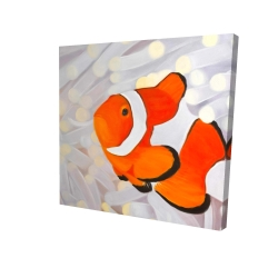 Canvas 24 x 24 - 3D - Clownfish