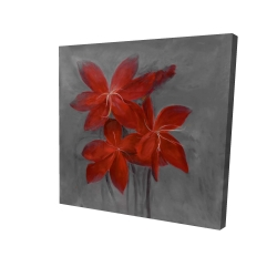 Canvas 24 x 24 - 3D - Asiatic lily