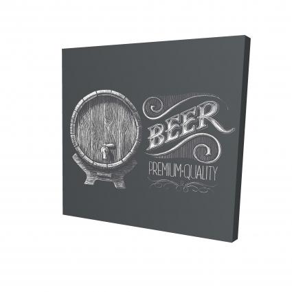 Old beer sign