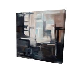 Canvas 24 x 24 - 3D - Subtil