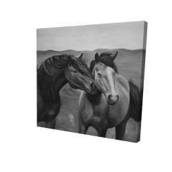 Canvas 24 x 24 - 3D - Tenderness