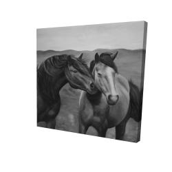 Canvas 24 x 24 - 3D - Tenderness