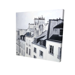 Canvas 24 x 24 - 3D - Historical buildings