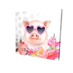Little pig in love