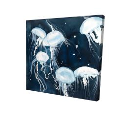Canvas 24 x 24 - 3D - Medusa