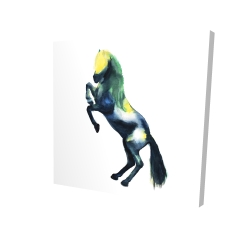Canvas 24 x 24 - 3D - Greeting horse