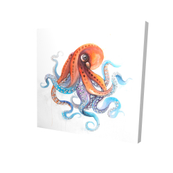 Funny colorful octopus