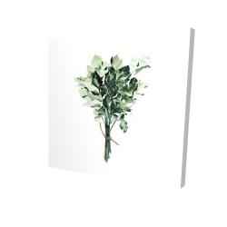 Canvas 24 x 24 - 3D - Tied up persil bundle