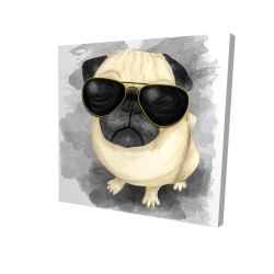 Pug with style