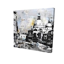 Canvas 24 x 24 - 3D - Basilica of santa maria della salute