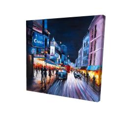 Canvas 24 x 24 - 3D - Cabaret evening