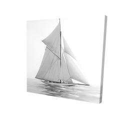 Canvas 24 x 24 - 3D - Sailing ship