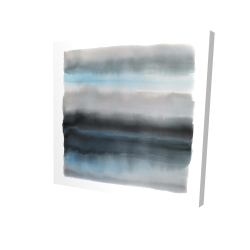 Canvas 24 x 24 - 3D - Shade of blue