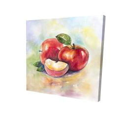 Canvas 24 x 24 - 3D - Succulent apples