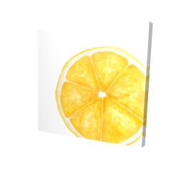 Canvas 24 x 24 - 3D - Lemon slice