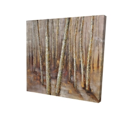 Canvas 24 x 24 - 3D - Forest