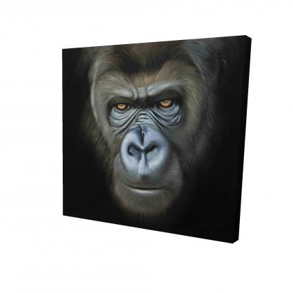 Visage de gorille