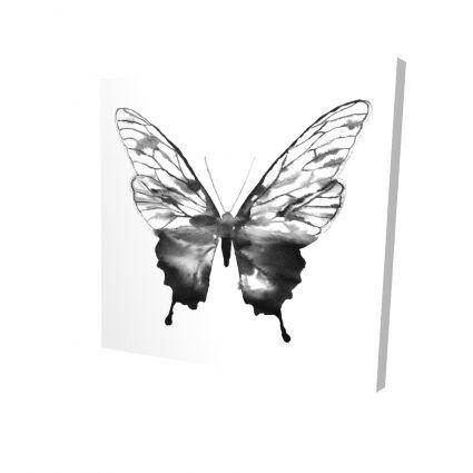 Black butterfly sketch