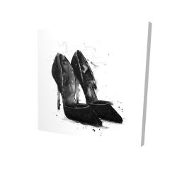 Canvas 24 x 24 - 3D - Black pumps