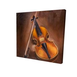 Canvas 24 x 24 - 3D - Alto violin