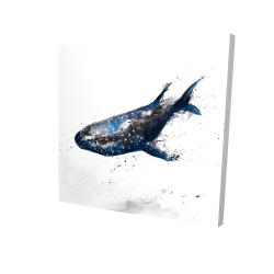 Requin baleine abstrait