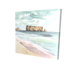 Canvas 24 x 24 - 3D - Rocher percé