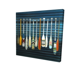 Canvas 24 x 24 - 3D - Paddles