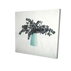 Canvas 24 x 24 - 3D - Bouquet of eucalyptus