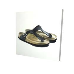 Canvas 24 x 24 - 3D - Sandals