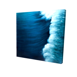 Canvas 24 x 24 - 3D - Wave