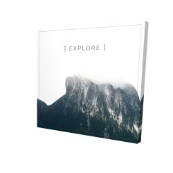 Canvas 24 x 24 - 3D - Explore