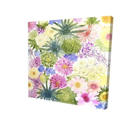 Bundle of exotic flowers