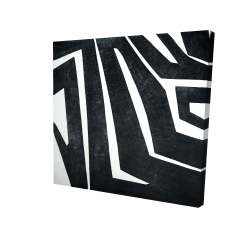 Canvas 24 x 24 - 3D - Labyrinth