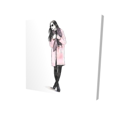 Canvas 24 x 24 - 3D - Woman spring look