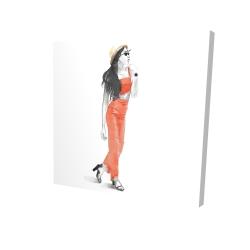 Canvas 24 x 24 - 3D - Strike the pose