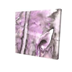 Canvas 24 x 24 - 3D - Purple